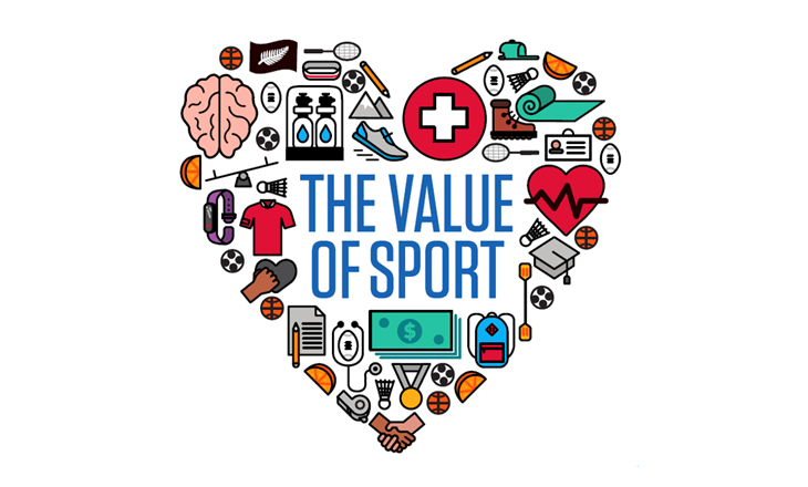 Value Of Sport infographic